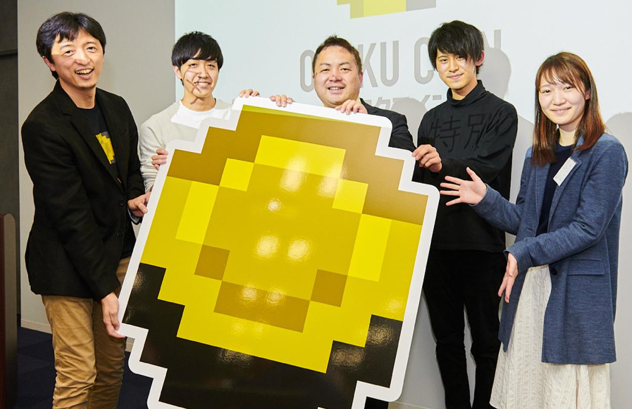 We presented 50,000 Otaku Coins as a prize for dapcon, a blockchain game hackathon sponsored by Hakuhodo.