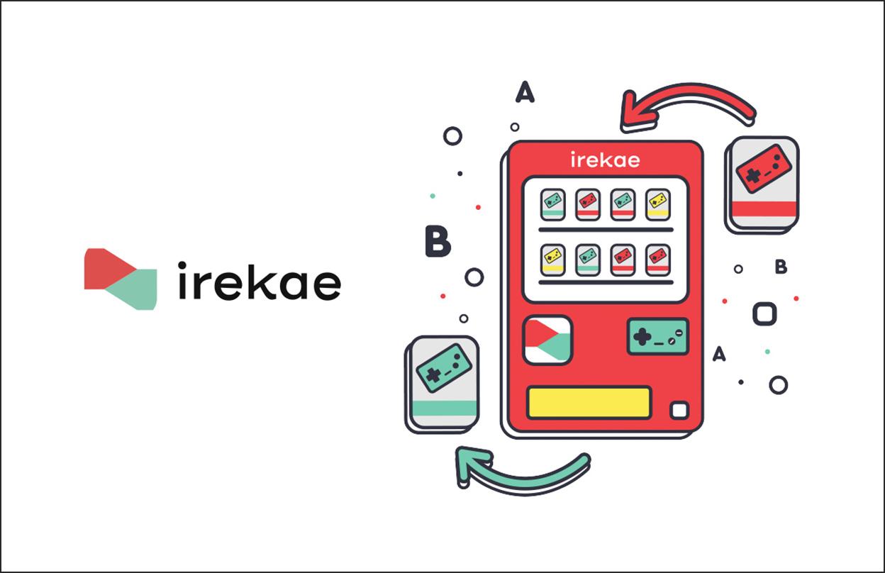 Use Otaku Coins to exchange games with Irekae!